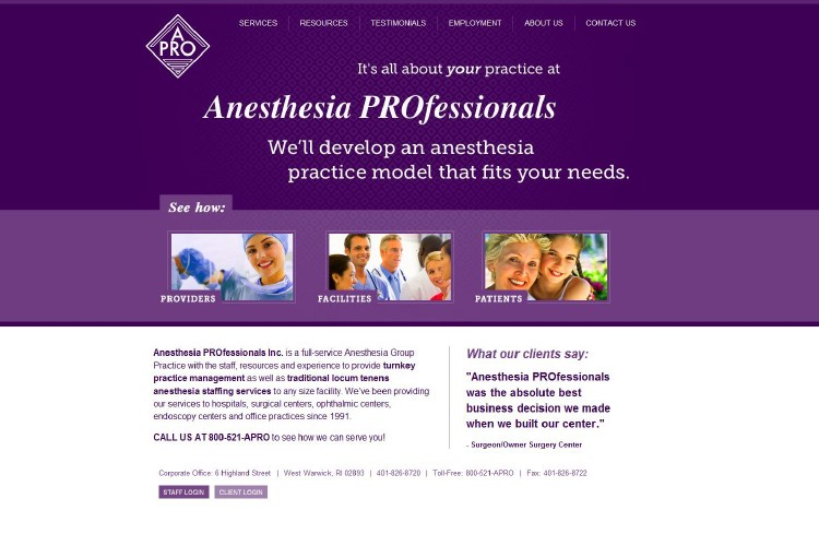 Anesthesia Professionals After