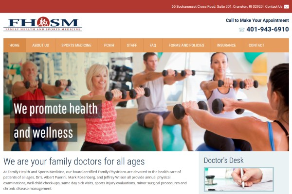 Family Health and Sports Medicine