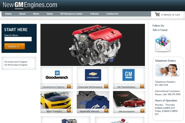 New GM Engines